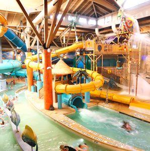 Visit Splash Lagoon Indoor Water Park Resort on your trip to Erie