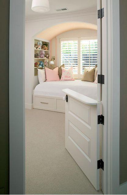 Split a regular door into dutch half doors.