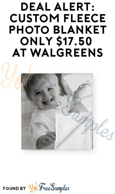 Deal Alert Custom Fleece Photo Blanket Only 17 50 At Walgreens