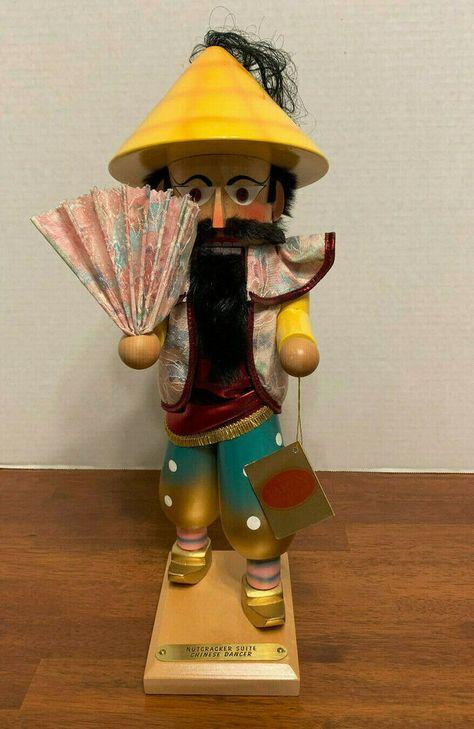 Steinbach Nutcracker Chinese Dancer Handcrafted in Germany  #Steinbach