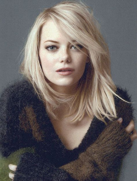 Hair Bangs Emma Stone Gwen Stacy 24 Ideas Hair Emma Stone