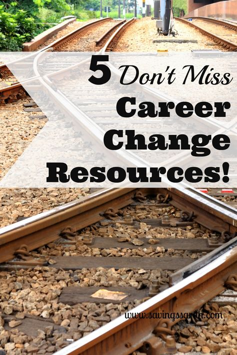 5 Don't Miss Career Change Resources - Earning and Saving with Sarah