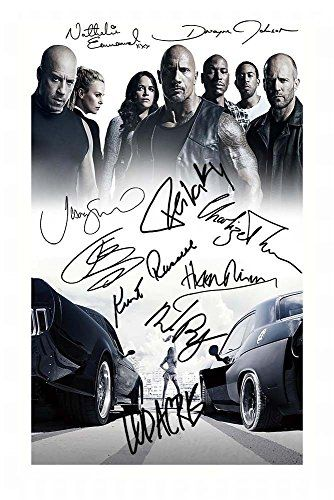 Fast And The Furious 8 The Fate Of The Furious Cast Of 10