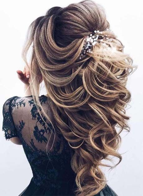 Amazing Party Hairstyle 2018 2019 Prom Hairstyles For Long Hair Wedding Hair Half Cute Prom Hairstyles