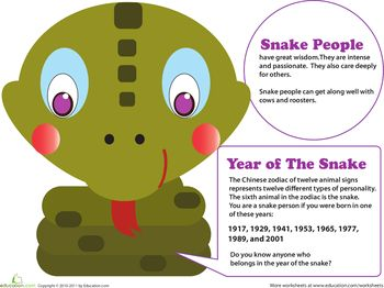 Year Of The Snake Year Of The Snake Chinese Zodiac Snake