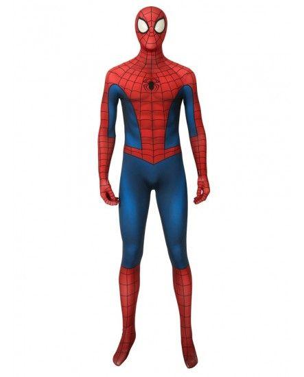 Spider Man Full Body : spider, Spider-man, Ideas, Spiderman, Costume,, Cosplay, Costumes,