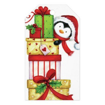 Christmas Gift Tag - craft supplies diy custom design supply special