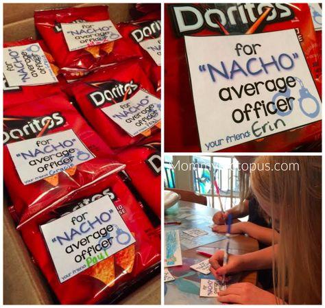 Nacho Average Officer Printable :: Police Appreciation :: Law Enforcement Appreciation