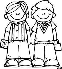 crealo tu melonheadz blanco y negro pinterest rh pinterest com  free printable black and white clipart for teachers