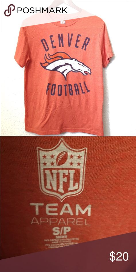 cf84377c NFL Denver Broncos T-shirt. Size S in 2018 | My Posh Picks | Shirts ...
