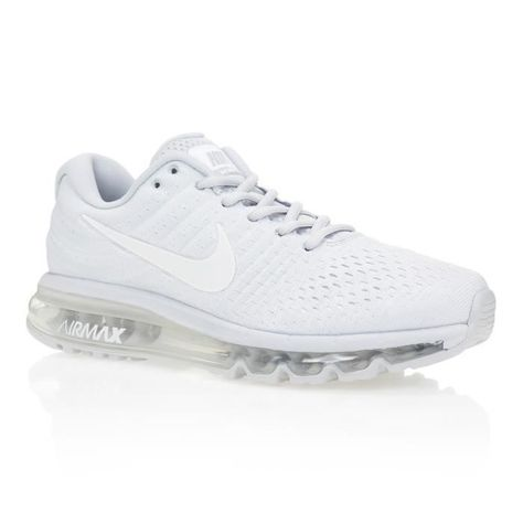 NIKE Baskets Air Max 2017 - Homme - Gris Clair/Blanc en 2020 ...