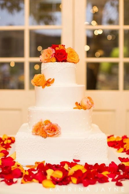 Calamigos Ranch Wedding Elegant Wedding Cakes Fall Wedding