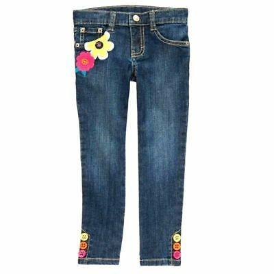 6 Gymboree Girls Floral Super Skinny Soft Jegging Pants