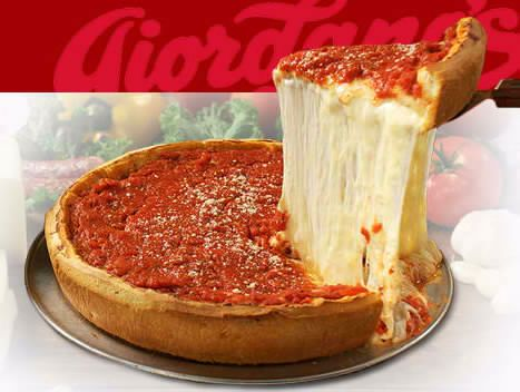 Giordano's Famous Stuffed Pizza -  Chicago, IL. Best Pizza I have ever had!