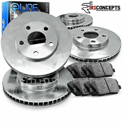 OE Replacement Rotors w//Ceramic Pads F 2007 2008 BMW 328i See Desc.