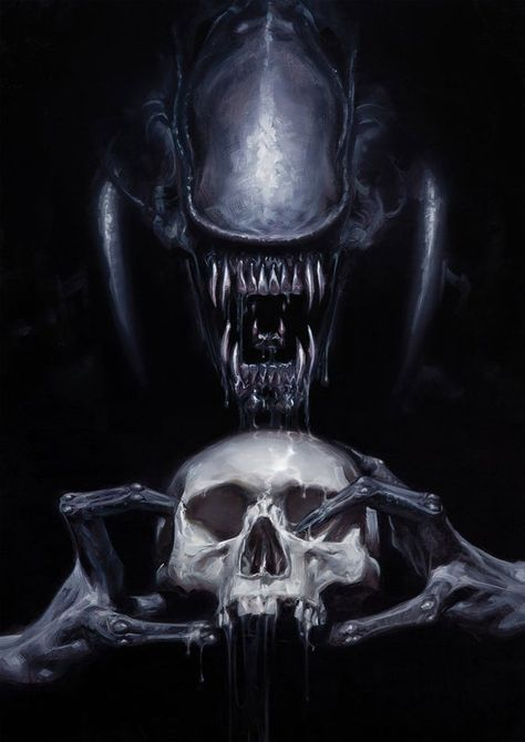 Alien Vs Predator The End Of Humankind Artwork Poster