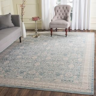 Distressed Duck Egg Grey Blue Unique Faded Vintage Faded Oriental Persian Rugs