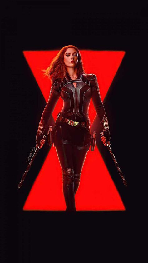 #Black Widow Exclusive Wallpaper
