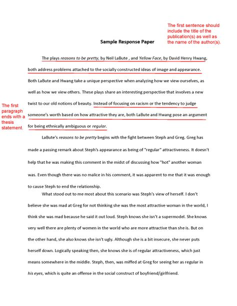 Write an Effective Response Paper With These Tips