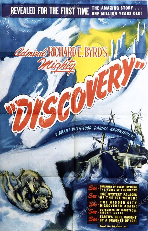 cool movie documentary Admiral Byrd's expedition film Discovery 35m-6373