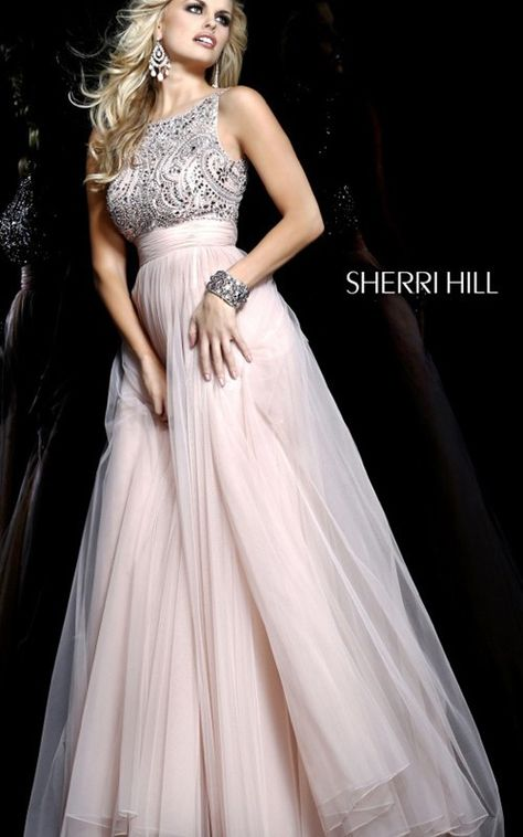 505ff1822 2014 Nude Prom Dress Cheap Sherri Hill 11022Outlet