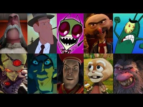 Defeats Of My Favorite Animated Movie Villains Part 2 Youtube In 2020 Animated Movies Villain Animation