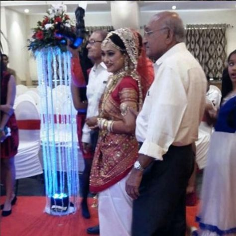 Complete Wedding Album of TV Actress Disha Vakani aka