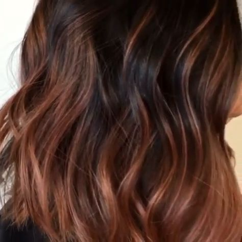 Beautiful hair colour