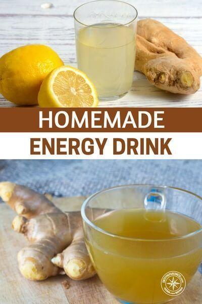 Food Energy Drinks Homemade Energy Drink Natural Energy Drinks