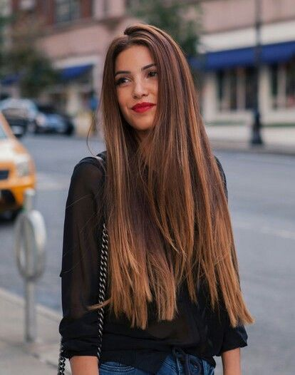 Image Result For Hairstyles For Long Thick Straight Hair Thick Hair Styles Long Thick Hair Long Brunette Hair