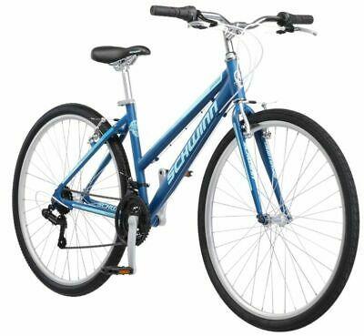 Sponsored Ebay Schwinn Hybrid Bike Blue 700c Women S Cruiser Alloy Frame Sport Road Bicycle New In 2020 Hybrid Bike Schwinn Bike Used Bikes