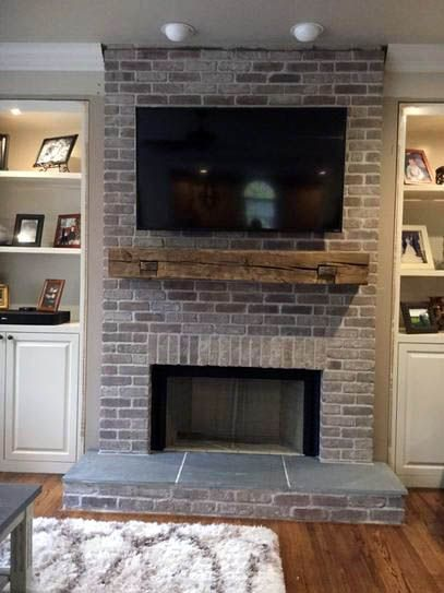 3 Festive Ways To Spruce Up Your Fireplace Mantel Brick