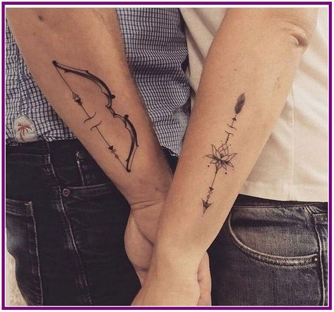 26+ Lovely Couple Tattoo Designs - aoneperfume