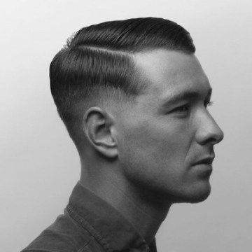 Frisuren Manner 1940 Frisurentrends Frisuren Haar Frisuren Manner Herren Haarschnitt