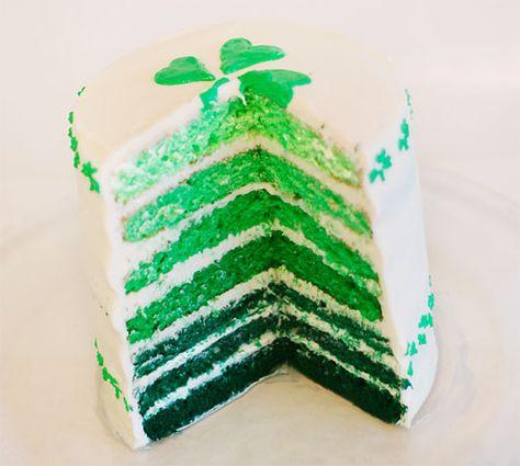 St Patricks Day Cake -