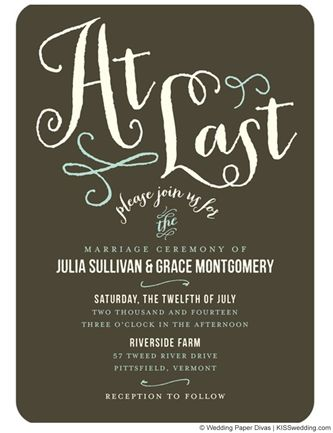I know youu0027ve made up invites but this is a cute way to announce you - invitation wording for elopement party