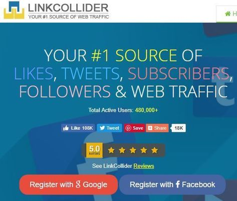 LinkCollider is the only FREE SEO tools with social media advertising to improve SEO