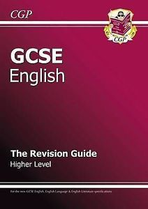 GCSE English Literature and Language Revision Guide by CGP Books (Paperback, 2002) for sale online | eBay