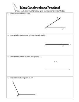 44++ Geometric construction worksheet Most Effective
