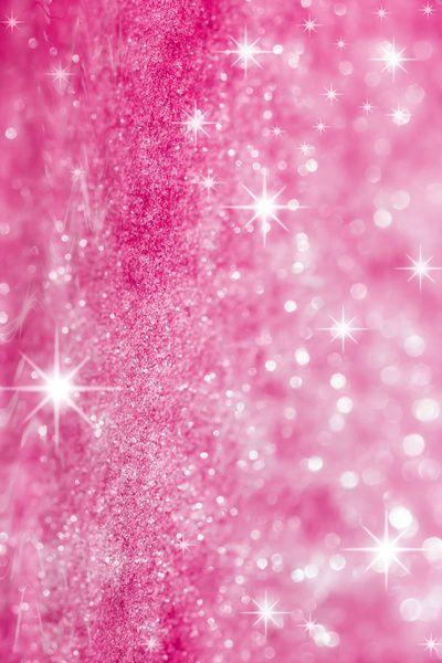 Pink Glitter Photo Art Print Glitterwallpaper Couleur Rose Strass Et Paillettes Fond Ecran Rose