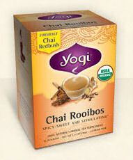 Chai Rooibos Tea - Yogi Tea - For those who like chai, this might work but we suggest that you make it weaker to test to see if your bladder tolerates it well!