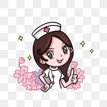Female Nurse Doctors Medical Gentle And Community Helpers Clipart Long Curly Hair Flower Png Transparent Clipart Image And Psd File For Free Download Medical Technology Nurse Art Doctor Medical