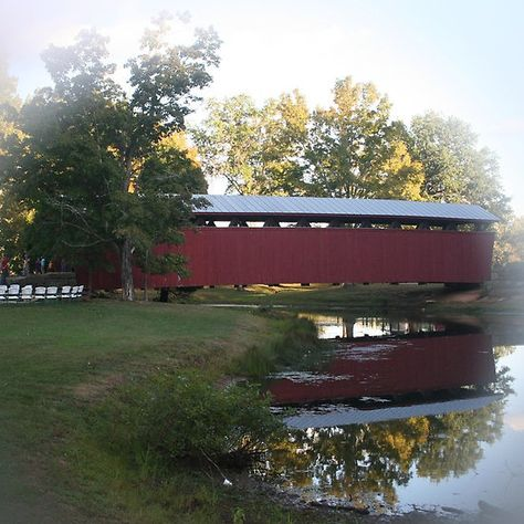 Staats+Mill+Covered+Bridge+in+Ripley+WV