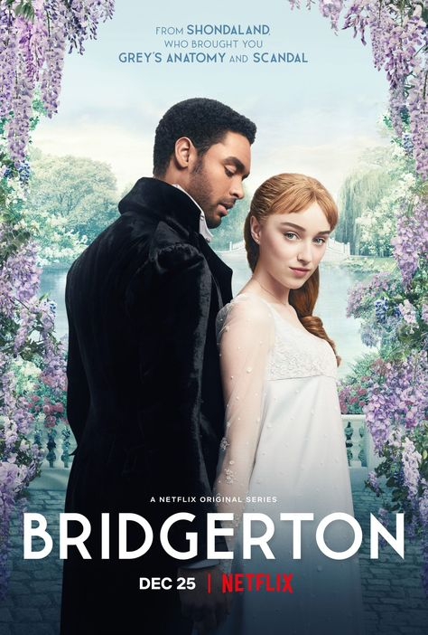 "VannDigital Teaser Trailer For Netflix Original Series 'Bridgerton'  ""Netflix presents Bridgerton – Official Web Series Teaser Trailer #1 [HD]"" Synopsis: Based on Julia Quinn's best-selling series of novels, spanning from 2000 to 2013, this smart feminist take on Regency England romance unveils the glittering, wealthy, sexual, painful, funny, and sometimes lonely lives of the women and men in London's high society marriage mart […] The post Teaser Trailer For Julie Andrews, Movies And Series, Movies And Tv Shows, Tv Series, Grey's Anatomy, Karl Urban, Gossip Girl, Scandal, Netflix Originals"