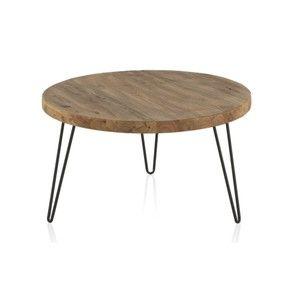 Stolik Z Blatem Z Drewna Wiazu Geese Camile 71 Cm Bonami Coffee Table Decor Table