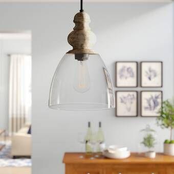 Clarkson 1 Light Single Bell Pendant Reviews Birch Lane Globe Chandelier Pendant Lighting Bell Pendant
