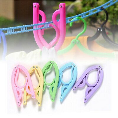 Advertisement 1pcs Travel Clothes Hangers Portable Glamorous
