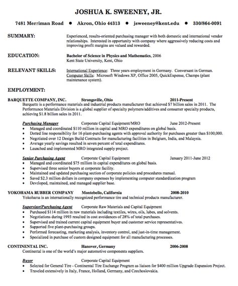 Benefits Manager Resume Manager Resume Samples Pinterest - plant inspector resume
