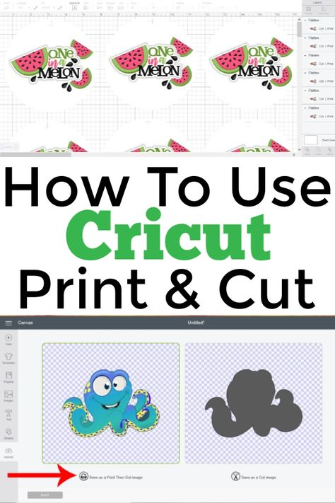Designs Discover How To Use The Print And Cut Feature In Cricut Design Space - Tastefully Frugal Everything you need to know about how to use Cricut Print and Cut. Includes Print and Cut projects instructions and printer recommendations. Vinyle Cricut, Cricut Vinyl, Cricut Air, Cricut Cards, Cricut Fonts, How To Use Cricut, Cricut Help, Silhouette Cameo, Planners
