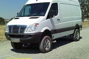 2010 Whitefeather 4x4 Freightliner 2500 Sprinter Red Bluff California Freightliner Van